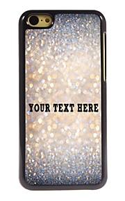 personlig telefon sag - sparkle design metal tilfældet for iphone 5c