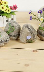 bordcenter hjerte form stein bord dekorasjon hjem dekorasjon bord deocrations (sett av 1)