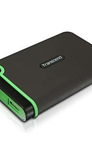 overskrider 512 GB USB 3.0 ekstern harddisk - militære drop standarder (ts512tsj25m3)