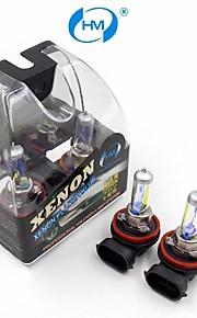 hm® h11 12v 100w halogeenlamp koplamp gele gloeilampen (een paar)
