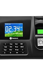 realand farveskærm fingeraftryk deltagelse maskine kreditkort + password + fingeraftryk zdc20
