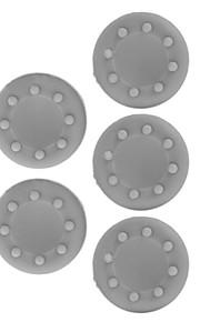 Xbox 360 / Xbox 360 Slim / xbox et spil controller beskyttelse silikoneetui (grå, 5 stk)