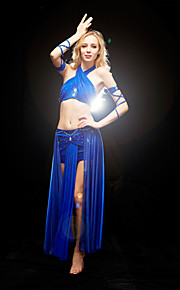 Dancewear Spandex Belly Dance Outfits Top and Bottom and For Ladies More Colors