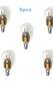 MORSEN E14 3W 3 High Power LED 300 LM Warm White G45 edison Vintage LED Filament Bulbs AC 85-265 V