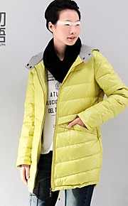 Toyouth ® Women's 2015 In the long stay warm coats hooded warm coats