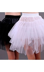 sexy mini-jupe de mariée courte robe crinoline jupon mariage plus de couleurs