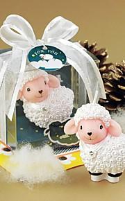 Bougies et Bougeoirs Faveurs et cadeaux de fête Baby shower/Anniversaire