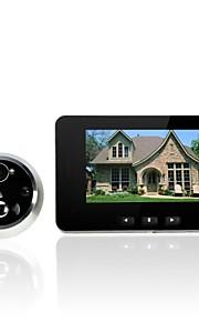 "4.3 ""digitale ir nachtzicht bewakingscamera deurbel fotograferen kijkgaatje"