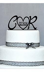 cake toppers gepersonaliseerde hout cake topper