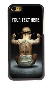 personalisierte Fall Jungenentwurf Metallkasten für iphone 5c
