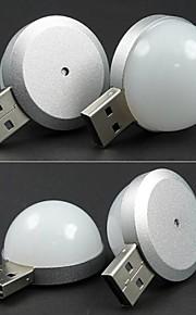 1.75w med halvkuleformet diffusor 4ledusb øye camping lampe leselampe