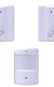 Doorbell Wireless Infrared Monitor Sensor Detector Entry Door Bell Alarm Chime