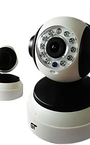 Dag Nacht/Bewegingsdetectie/Dual Stream/Remote Access/IR-cut/Wifi Protected Setup/Plug and play - Binnen PTZ - IP Camera