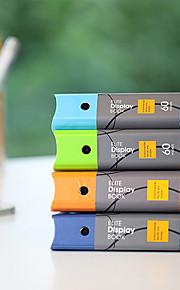 תיקיית נייר אופנה העסקית A4 40 דפים קוריאני (צבע אקראי)
