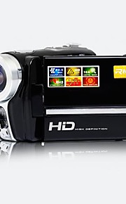 5.0 Mp Cmos - Camcorder - met 2,8 inch  - Scherm - 12x - Video Out/720P/HD/Anti-schok