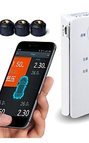 android bluetoothtpms psi bar dæktryk overvågningssystem 4 eksterne sensorer bil TPMS psy diagnoseværktøj