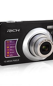 5.0 Mp Cmos - Camcorder - met 2.7 Inch - Scherm - 12x - Video Out/720P/HD/Anti-schok