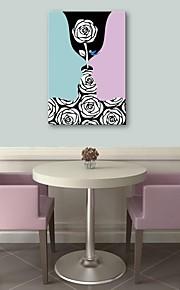 e-FOYER art toile tendue peinture d'amour de décoration