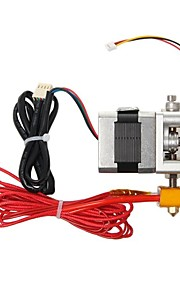 Geeetech MK8 All Metal 3D Printer Extruder with Cable
