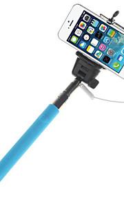 mowto Z01 handheld Selfie staaf monopod voor GoPro held&sluiter voor ios / android mobiele telefoons-blauw