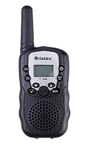 """baiston bst-388 22ch 0.5W 462mhz walkie talkie met 1 """"lcd, zaklamp, monitorfunctie - 2 stuks"""