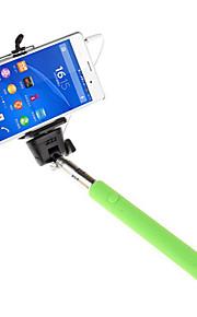 mowto Z01 håndholdte Selfie stang monopod til GoPro hero&lukker til iOS / Android mobiltelefoner -Grøn