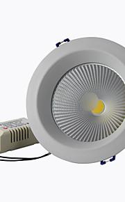 """éclairage 8a 4 """"15w 1350lm 2800-6500k torchis blanc chaud blanc / froid encastré Spots LED AC85-265V"""