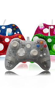 bedrade afstandsbediening game controller console voor Microsoft Xbox 360 met led licht