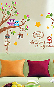 Environmental Removable Eiffel PVC Wall Sticker