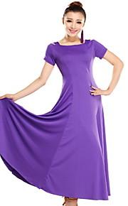 dancewear viscose moderne dans jurk voor dames meer kleuren