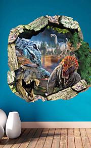 Animali / Fantasia / 3D Adesivi murali Adesivi 3D da parete , Vinyl stickers 50*50cm