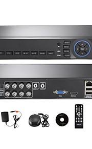 annke® 8-kanals hdmi AHD dvr CCTV sikkerhedssystem remote visning (qr kode scanning, hurtig adgang)