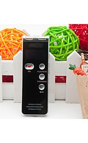 8gb 600 digitale voice recorder dictafoon met wekker / mp3-speler functie en LED-scherm