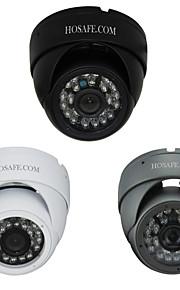 ™ 960p hosafe sicurezza 1.3MP metallo impermeabile telecamera dome IP con 24 IR LED
