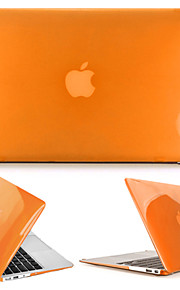 """גביש כובע-נסיך מקרה קשה מגן מחשב גוף מלא עבור ה- MacBook Air 13.3 """"(צבעים שונים)"""