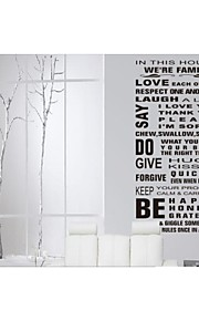 We Are Family Home Decoration Quote Wall Decal ZY8088 Adesivo De Parede Removable Vinyl Wall Sticker