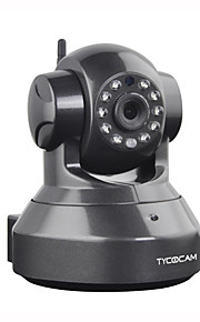Dag Nacht/Bewegingsdetectie/PoE/Dual Stream/Remote Access/IR-cut/Wifi Protected Setup/Plug and play - Binnen PTZ - IP Camera