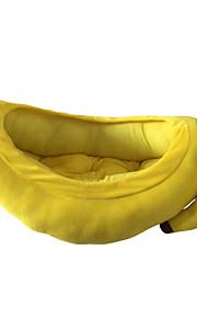 høj kvalitet banan pet seng til hund / kat (s, 70 * 45 * 15)