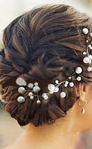 Femme Imitation de perle Casque-Mariage / Occasion spéciale Epingle à Cheveux 6 Pièces