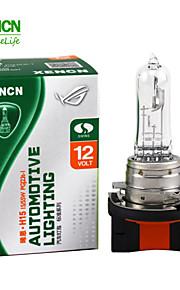 2PCS XENCN H15 12V 15/55W 3200K Clear Series Original Headlight OEM Quality Halogen Bulb Auto Fog Lamps