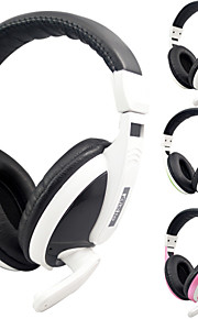 kubite t-155 kabel stereo gaming headset med mikrofon til pc / ps3 / PS4