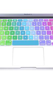 """coosbo® kleurrijke siliconen toetsenbord beschermhoes skin voor 11 """", 12"""", 13 """", 15"""", 17 """"macbook air pro retina"""