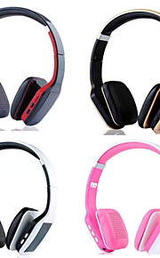 headset trådløse foldbare folde stereo høretelefoner med støjreduktion mikrofon&genopladeligt li-ion batteri
