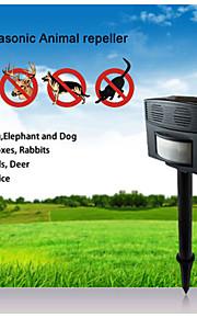 超大国の屋外超音波安全無害PIR超音波動物リペラ