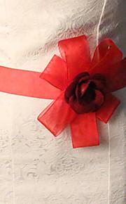 Ceinture Satin/ Tulle Ceintures pour Femmes Mariage/Fête/Soirée Fleur