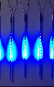 DC12V Eingang 46W 50cm lang 72pcs 5050 SMD LED Meteor regen Licht, blaue Farbe 10 Stück / Set