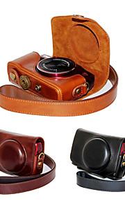 dengpin pu lederen cameratas tas te dekken met schouderband voor Canon PowerShot SX700 sx710 hs hs (verschillende kleuren)