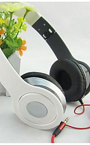 nye stereo kabel hovedtelefon headset øretelefon øresnegl justerbar over-øre for mp3 / mp4 støjreducerende headset
