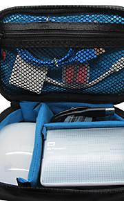 Khanka lille vandtæt bærbar rejsearrangør taske til elektronisk tilbehør