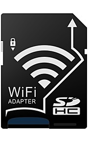 j-lignende trådløse wifi microSDHC til SDHC-sd hukommelseskort andel adapter